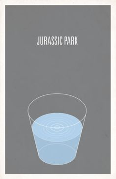 Image of Jurassic Park minimalist movie poster. This terrified me. Best Movie Posters, Minimal Movie Posters, Minimal Poster, Cool Posters, Film Posters, Poster Minimalista, Posters Vintage, Vintage Movies, Michael Crichton