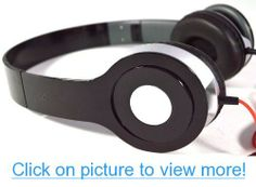 DJ Beats Style Black Stereo Over Ear Headphones with Nice Beats Quality Sound for 3.5mm Jack
