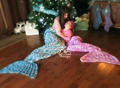 Mermaid Blanket Crochet Tail Pattern