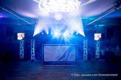 Natuurlijk verzorgen wij graag een gave lichtshow op uw feest / evenement!