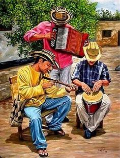 Esencia del vallenato Colombian Culture, Colombian Art, Royal Blue T Shirt, Puerto Rico History, Porto Rico, Puerto Rican Culture, Colombia South America, Mexican Art, My Heritage