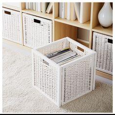 Довершена геометрія - максимальна економія твого простору.   #кошик #ящик #контейнер