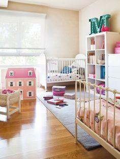 El cuarto del #bebé... compartido #habitación #infantil #cuna #cama #niños