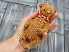 Купить Митси Мишка Тедди Коллекционная игрушка - мишка ручной работы, медведь, медведь тедди