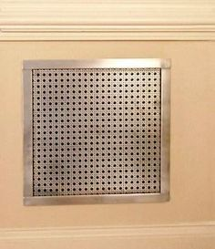 This style is the Drop-In Wall Grille in the Octagon Cane design and the Bright Chrome plated finish