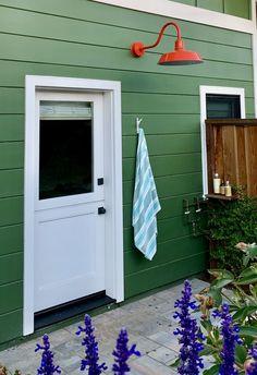 Original™ LED Gooseneck Light/420-Orange/G22 Gooseneck Arm Exterior Lighting, Outdoor Lighting, Outdoor Decor, Curb Appeal, Garage Doors, Shed, Wall Lights, Outdoor Structures, Indoor