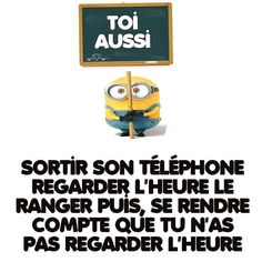 Ça m'arrive souvent ça x') Minion Humour, Best Quotes, Funny Quotes, Lol, Minions Quotes, Funny Me, Grumpy Cat, Funny Stories, Laugh Out Loud