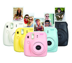 Fujifilm instax mini polaroid camera. I don't know why I think this is so cool, but I don't need it need it. I think I might just be entering a polaroid camera phase or something.