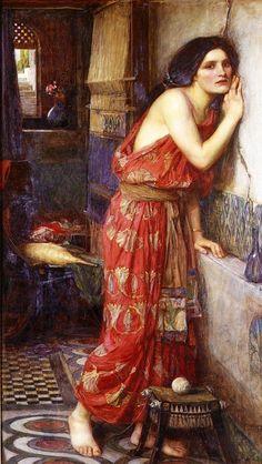 Thisbe - John William Waterhouse - Pictify