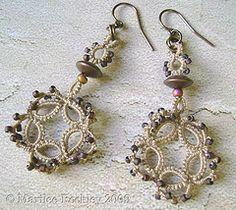 """""""Cogswell"""" earrings"""