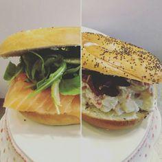 #lunchtime #sweetkingcafe #bagelbar #bagel