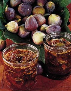 Recipe Fig jam: Carefully wipe the figs with a clean cloth. Fig Jam, Jam And Jelly, Food Club, My Dessert, My Favorite Food, Love Food, Brunch, Food And Drink, Healthy Recipes