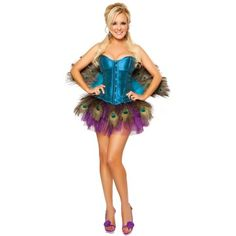 sorry Kathy, when I saw this I just couldn't resist pinning! Peacock Halloween Costume DIY Inspiration!