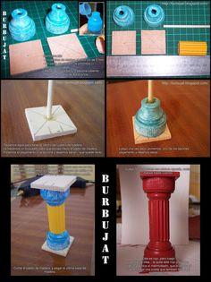 soap bottle lid columns