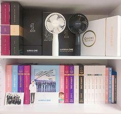 Trendy room decor kpop wanna one ideas K Pop, Army Room Decor, Fandom Kpop, Pop Collection, Thing 1, Best Albums, Kpop Merch, Aesthetic Room Decor, Room Tour