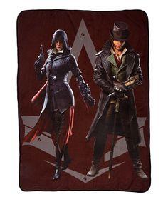 Assassin's Creed Syndicate Emily & Jacob Fleece Throw
