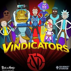 Image result for rick and morty vindicators