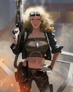 女孩 , Рем Борейко on ArtStation at https://www.artstation.com/artwork/-8edafbde-c5e5-47db-94bb-cb65b88e2299