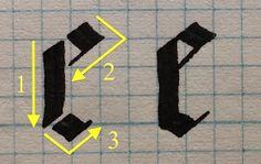 Gothic Textura Quadrata e
