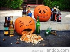 28 Pumpkins Who Are Clearly Alcoholics