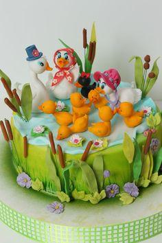 viorica's cakes: Tort pentru baita Anielei