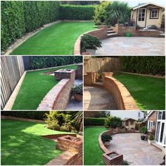Artificial grass installation Ashtead Surrey Artificial Grass Installation, Surrey, Garden Landscaping, Outdoors, Landscape, Outdoor Decor, House, Front Yard Landscaping, Scenery
