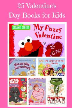 I think Valentine's Day is a great bright spot in a sometimes very dreary month! Here are 25 books about Valentine's Day to read to your kids. Valentines Day Book, Valentines For Kids, Valentine Day Crafts, Valentine Ideas, Holiday Crafts, Valentines Day Activities, Activities For Kids, Sensory Activities, Learning Activities