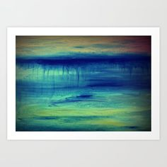 Underwater Art Print by dimitrapapageorgiou Underwater Art, From The Ground Up, Buy Frames, Unique Art, Printing Process, Waiting, Gallery Wall, Smooth, Walls