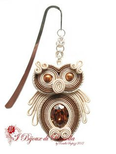 I Bijoux di Rossella: Il mio piccolo zoo pinned from beads online australia Soutache Necklace, Beaded Earrings, Earrings Handmade, Handmade Jewelry, Diy Jewelry, Beaded Jewelry, Jewelery, Jewelry Making, Soutache Tutorial
