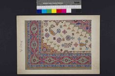 Stoddard-Templeton Design: Assorted Persian Bordered Squares (STOD/DES/111/32) | Flickr - Photo Sharing!