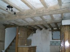 Stripping Back Painted Oak Beams So They Can Breathe