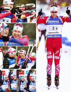 "emilheglesvendsen: "" Team Norway won men's relay in Ruhpolding """