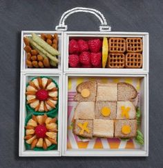 Create fun lunch ideas for kids with Easy Lunches For Kids, Kids Meals, Bento Box, Lunch Box, Harvest Snaps, My Favorite Food, Favorite Recipes, Back To School Shopping, School Lunch