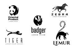 Animal Logos Set 2 by vatesdesign on Creative Market