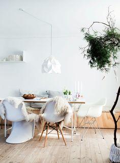 Hvid jul: Hjemme hos juleentusiasten - Boligliv