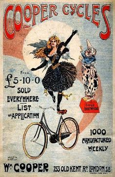 WONDERFUL A4 GLOSSY PRINT / POSTER - 'COOPER CYCLES' - (3) (A4 PRINTS - VINTAGE TRANSPORT ADS / FLYERS) by Unknown http://www.amazon.co.uk/dp/B004NW0B0U/ref=cm_sw_r_pi_dp_PfDnvb1Q2CJRB