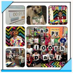 Tons of 100th day ideas!