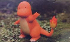 For the Ditto Cards in the Delta Species , clay modeler Yuka Morii was hired to create these clay figures of Ditto transformed into other Pokemon Pokemon Cards, Dinosaur Stuffed Animal, Clay, Retro, Toys, Animals, Art, Nintendo, Illustrations