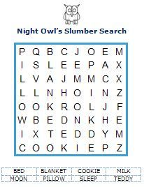 owl sleep over ideas | Slumber Party Games - Find your Pajamas for this Pretend Sleepover!