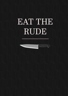 Hannibal - eat the rude
