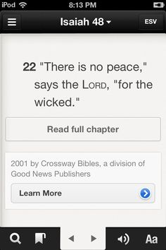 Isaiah 48:22
