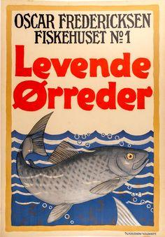 LUND, Aage (1892-1972). Levende Orreder-Trout. – Sotherans