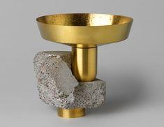Objetos esculturais com metal e concreto | arktalk