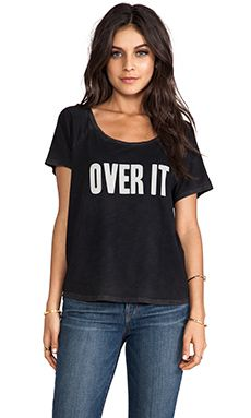 Feel the Piece x Tyler Jacobs Over It Tee in Transylvania Black | REVOLVE