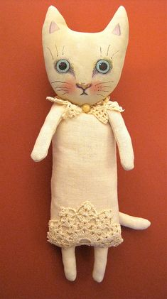 ooak cat art doll | Flickr - Photo Sharing!