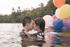 Preston Lake Engagement Session | Michelle and Daniel | Sweet engagement photography in the water #torontoengagementphotographer #engagement #engagementphotography ~ http://www.focusproduction.ca/toronto-engagement-photography/michelle-daniel/