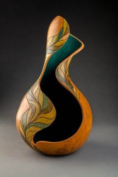 I have always been drawn to the natural world for inspiration. My fascination with gourds has been my most recent passion. Gourds, with their earthiness and almost infinite variety of shape and form,communicate to me and I listen…