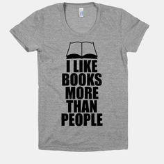 I Like Books More Than People