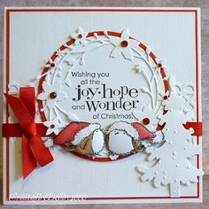 MB wreath with Penny Black stamps