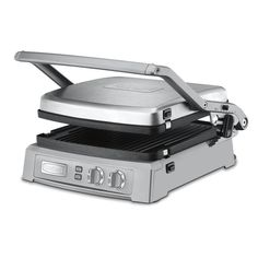 The Cuisinart Griddler Deluxe takes grilling to new heights. Offering six enticing cooking options, the reversible grill and griddle plates, give home chefs complete control.